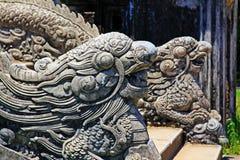 Dragon Stair In Hue Imperial-Stad, de Werelderfenis van Unesco van Vietnam stock afbeelding