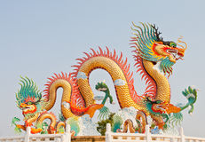 Dragon statue Royalty Free Stock Photography