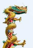 DRAGON STATUE Stock Image