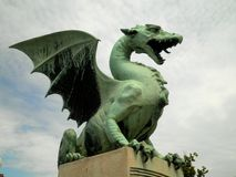 Dragon Statue Imagen de archivo