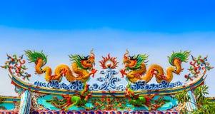 Dragon Statue Stockbild