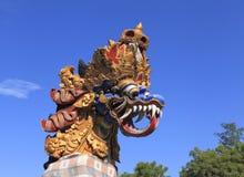 Dragon Statue, Bali Stock Photos