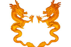 Dragon statue on Ceiling stock images