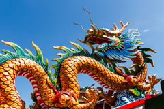 Dragon statue Stock Image