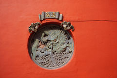 Dragon statue at the Chinese temple in Kuala Lumpur, Malaysia Stock Photography