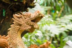 Dragon statue-2 Royalty Free Stock Photos