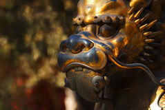 Dragon statue. A dragon statue in Forbidden City, Beijing, China Royalty Free Stock Photography