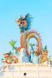 Dragon statue. Royalty Free Stock Photo