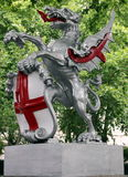 Dragon Statue i London Royaltyfri Foto