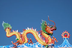 Dragon statue Stock Photography