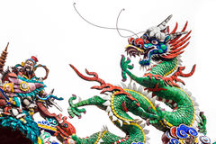 Dragon statue. Stock Image
