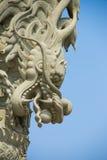 Dragon statue stone Stock Photos