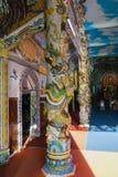 Dragon statue stucco arts. Decorative royalty free stock photo