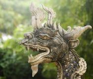 Dragon Statue, Wat Chang Kam Phra Wihan, Wiang Kam, Chiang Mai, Thaïlande image stock