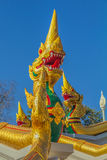 Dragon Statue at Wat Kaew Korawaram Temple Stock Image