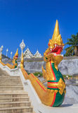 Dragon Statue at Wat Kaew Korawaram Temple Stock Photo