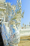 Dragon statue in Wat Rong Khun Stock Image