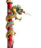 Dragon statue. Which is believed. And the culture of the Chinese people. And a legendary creature Royalty Free Stock Photos