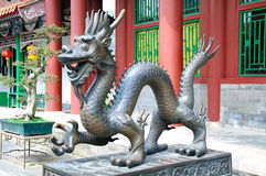 The Dragon Statue Royalty Free Stock Image
