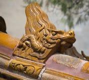 Dragon Statues del palacio de verano Foto de archivo libre de regalías