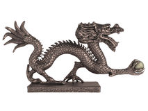 Dragon_statuette Stock Photo