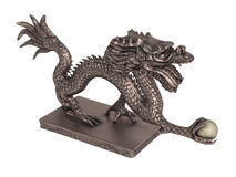 Dragon_statuette Royalty Free Stock Photography