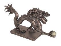 Dragon_statuette ilustração do vetor