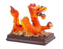 Dragon statuette Royalty Free Stock Image