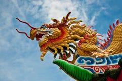 The Dragon status Stock Photos