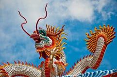 The Dragon status royalty free stock photo