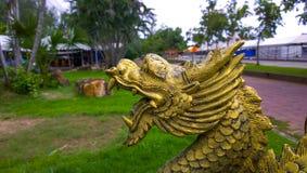 Dragon status Stock Photo