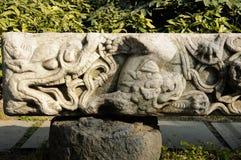 Dragon Stone Tablet Imagen de archivo