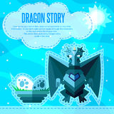 Dragon story. Stock Photography