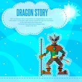 Dragon story. Royalty Free Stock Photos
