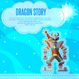 Dragon story. Stock Photo