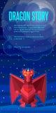 Dragon story. Royalty Free Stock Photo