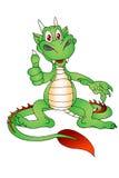 Dragon success Royalty Free Stock Photos