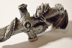 Dragon sur la croix Images libres de droits