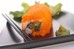 Dragon sushi roll Stock Photos