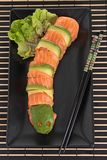 Dragon sushi roll Stock Photo