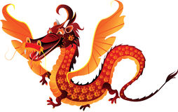 Dragon symbol 2012 Stock Photos