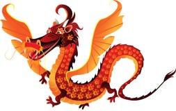 Dragon symbol 2012. The mythical dragon symbol 2012 vector illustration