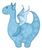 Dragon symbol of East New Years Royalty Free Stock Photography