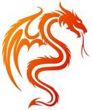A Dragon Symbol. Stock Photos