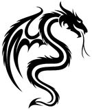 A Dragon Symbol. Royalty Free Stock Images