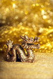 Dragon symbol of the year 2012 Royalty Free Stock Photos