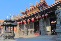 Dragon Taichung Taïwan de temple de Lecheng photo libre de droits
