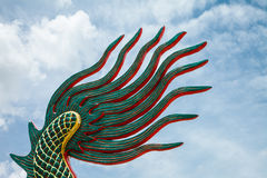 Dragon tail. Symbol of power Stock Images