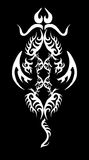 Dragon-tatouage Image libre de droits