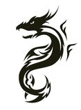 Dragon tattoo Stock Image
